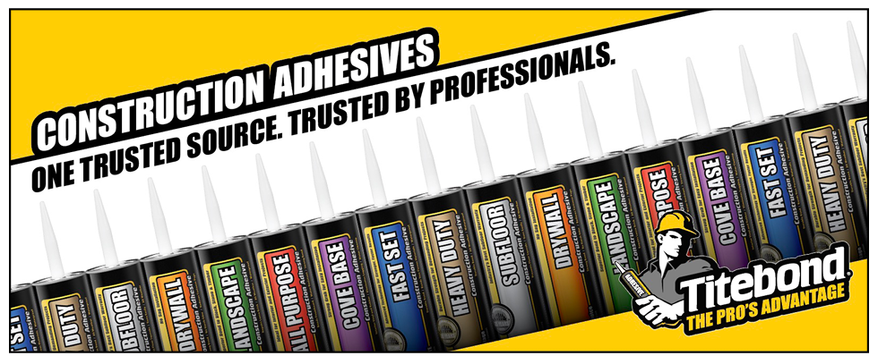 View all Titebond Construction Adhesives